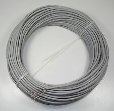 30m Coil Cat5e Cable - 4 Pair UTP Solid Copper in Grey PVC Sheath