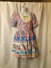 Lolita Dress With Headress And Socks
