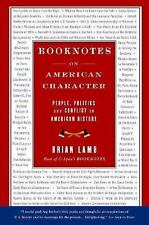 Booknotes On American Character (Booknotes)