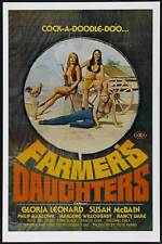 THE FARMER'S DAUGHTERS Movie POSTER 27x40