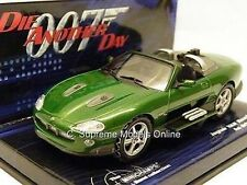 MINICHAMPS JAGUAR XKR XK JAMES BOND DIE ANOTHER DAY CAR ZAO SPORTS 1:43 SCALE