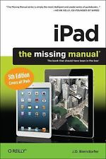 iPad: The Missing Manual, Biersdorfer, J. D., New Book