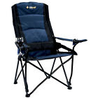 OZTRAIL LINDEMAN HIGH BACK Folding Lumbar Camping Picnic Support Pool Chair Camp