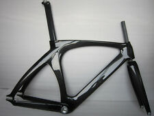 carbon fiber track bike frame fixed gear, single speed free headset 1-1/8""
