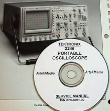 TEK Tektronix 2246 OSCILLOSCOPE SERVICE MANUAL
