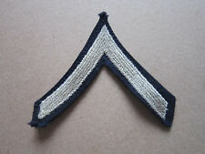 Private Military Rank Insignia (Style 1) Woven Cloth Patch Badge
