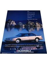 1993 Oldsmobile Eighty Eight LSS 88  Vintage Advertisement Car Print Ad J407