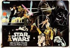 Vintage Star Wars Vinyl Action Figure Case Paper Insert from inside Cover