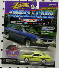 1971 71 DEMON SCAT PACK 340 GREEN LIME LIGHT DODGE BOYS MOPAR JOHNNY LIGHTNING