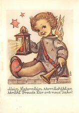 BG20748 child angel star b hummel  new year neujahr   germany