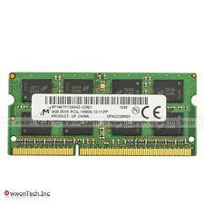 Micron 8GB PC3L-14900 DDR3L 1866MHz 204pin SODIMM Laptop Memory Unbuffered 1.35V