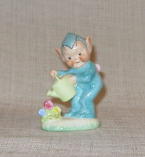 Vintage Shelley Mabel Lucie Attwell Boo Boo Pixie Figurine Watering Flowers LA29