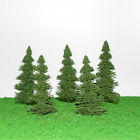 S0403 10pcs 15cm Model Train Pine Trees Railroad Scenery Layout OO HO Scale NEW