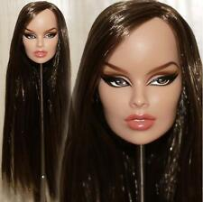 fr Fashion Royalty Vanessa Going Places doll Only head new hair 2#
