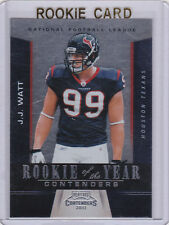 J.J. WATT Contenders ROOKIE CARD Houston Texans RC #99 JJ Football PREMIUM MINT
