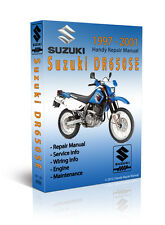 1991 - 2008 Suzuki DR650SE DR650S Service Repair Manual - CD Only