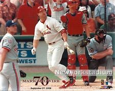St. Louis Cardinals- Mark McGuire -70th Home Run -Color #2