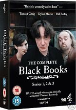 BLACK BOOKS Complete Collection: Series 1-3 (DVD)~~Dylan Moran~~BRAND NEW