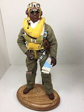 1/6 DRAGON US TUSKEGEE FIGHTER PILOT WW2 FULL PARACHUTE+STAND P-51 BBI DID RC