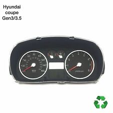 Hyundai Coupe Gen3/3.5 •02-2009• Genuine 2.0 Speedo Clock Dials (FreeP&P)