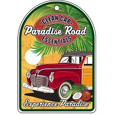 Surf City Garage Paradise Road Air Freshener-Experiencia-Pino Aroma - 3 Pack