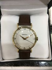 Jaeger Lecoultre Vintage 18K Yellow Gold Jumbo Size Watch