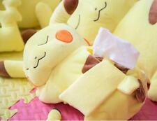 Cute Plush Pokémon Pikachu Bedroom Car Tissue Kleenex Cover Holder Yellow
