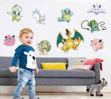 Pokemon Go Pikachu Decal Removable Graphic Wall Sticker Children Room Decor UK