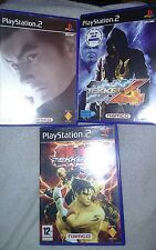 Lot 3 jeux Tekken Playstation 2 PAL