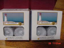 YANKEE CANDLE SEA HARBOR Scented Tealights 2 Boxes of 12 ea RETIRED