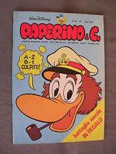 PAPERINO E C. #  39 - 28 marzo 1982 - CON INSERTO - WALT DISNEY - OTTIMO