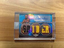 (2) 2010 UFC Knockout George St Pierre  Anderson Silva Triple Threads Auto  3/3
