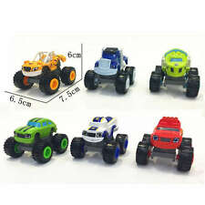 6 Pcs Blaze and the Monster Machine Vehicle Pickle Stripes Crusher ZEG PICKLE
