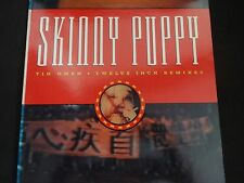 """Skinny Puppy """"Tin Omen-Twelve Inch Remixes"""" Vinyl EP. Out Of Print. VERY RARE !"""