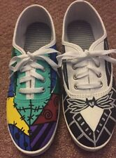 Custom Made Nightmare Before Christmas Jack And Sally Shoes