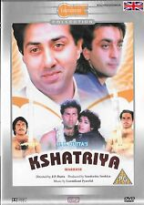 KSHATRIYA - DHARMENDRA - SUNNY DEOL - NEW ORIGINAL BOLLYWOOD DVD – FREE UK POST