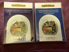 Clearsnap Colorbox Craft Techniques DVD set - Vol 1 & 2, BN & Sealed