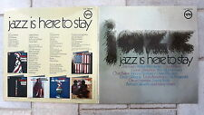 Jazz Is Here To Stay 2-LP Verve   Getz Gilberto Fitzgerald Armstrong Basie Kitt