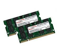 2 x 4 GB 8 GB DDR2 800 MHz, per Dell Latitude E6400 E6500 RAM memoria SO-DIMM