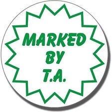 ST27 Marked by TA Pre-inked School Marking Stamper Primary Teaching Services