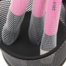 10 pcs Cosmetic Make Up Brush Netting - Guard Cover - Mesh Sheath Protectors!