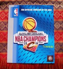 Official 2016 NBA Finals Champions Champs Cleveland Cavaliers Patch