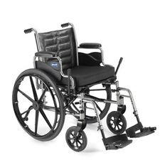 "Invacare Tracer EX2 16x16"" Wheelchair w/ Desk Length Arms & Footrests TREX26RP"