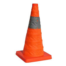 """65 CM 25.5""""Folding Collapsible Traffic Multi Purpose Pop Reflective Safety Cone"""