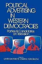 Political Advertising in Western Democracies: Parties and Candidates on Televisi