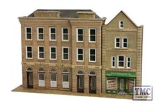 PO271 Metcalfe OO/HO Low Relief Banks & Shops Kits Card Kit