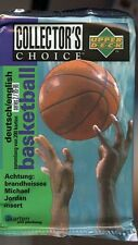 1995-96 COLLECTOR'S CHOICE SERIES TWO GERMAN BASKETBALL SEALED PACK
