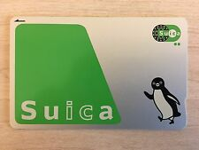 JR SUICA Prepaid card for Train, Bus, Subway, Convenience store, etc. from JAPAN