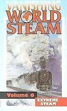 Vanishing World Steam - Vol. 6 - Extreme Steam (VHS) ~ Telerail ~ Railway Video