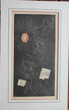 Gravure signée numérotée de Zwy MILSHTEIN etching Roumanie Romania